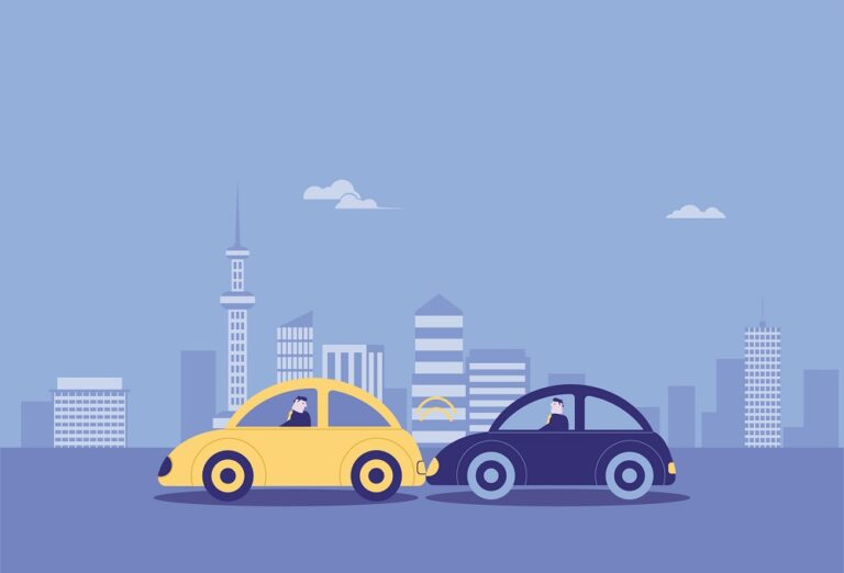 Car rear-end, traffic accident, car insurance